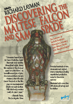 thesis for the maltese falcon The maltese falcon itself is a statue of a bird covered in valuable jewels it's been painted black to hide its true worth it's been painted black to hide its true worth.